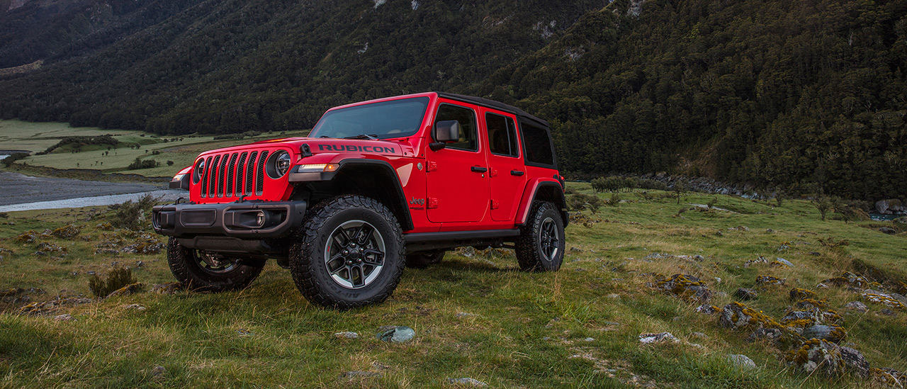 A special Camp Jeep with the preview of the all-new Jeep Wrangler